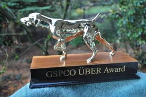 GSPCO UBER AWARD